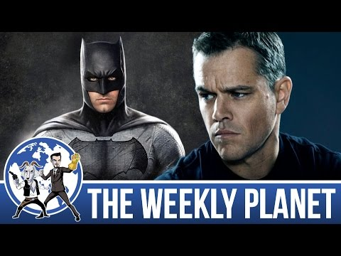 Jason Bourne Review & Batman Solo Movie - The Weekly Planet Podcast