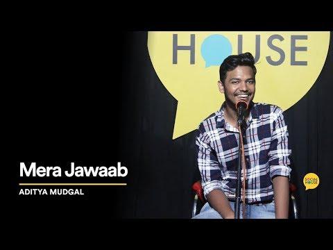 Mera Jawaab   Aditya Mudgal   The Social House Poetry   Whatashort