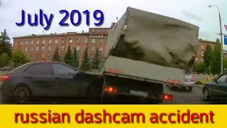 russian dashcam accident (July 2019)