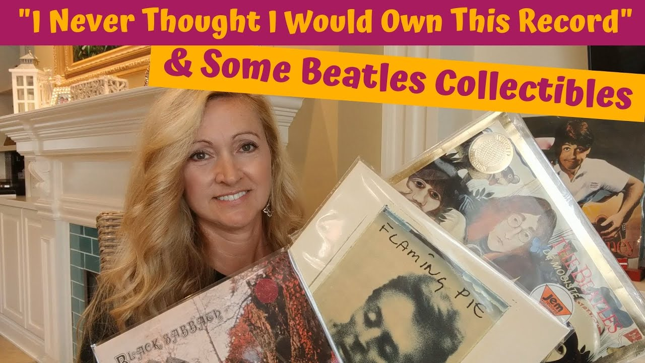 I Never Thought I Would Own This Record & Beatles Collectibles!!!