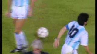 Hagi ve Maradona