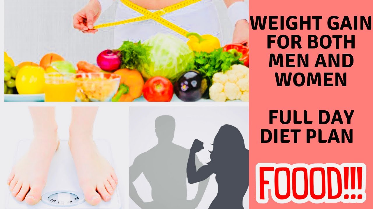 full day diet plan for weight gain