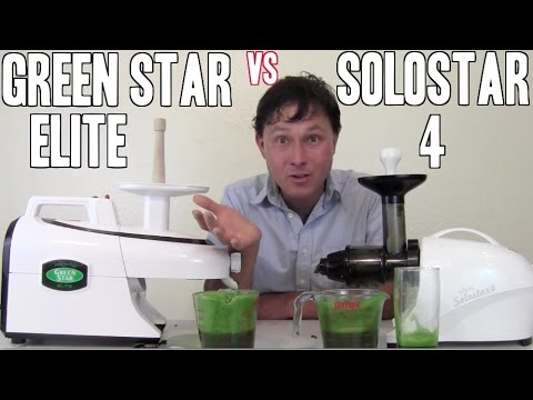 Best Juicer for Leafy Greens: Green Star Elite vs Solostar 4