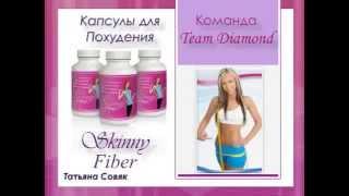 Капсулы для похудения   Skinny Fiber.Отзыв специалиста по БАДам.
