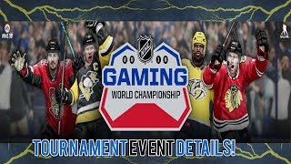 $100k NHL 18 World Championships Tournament! Event Details!