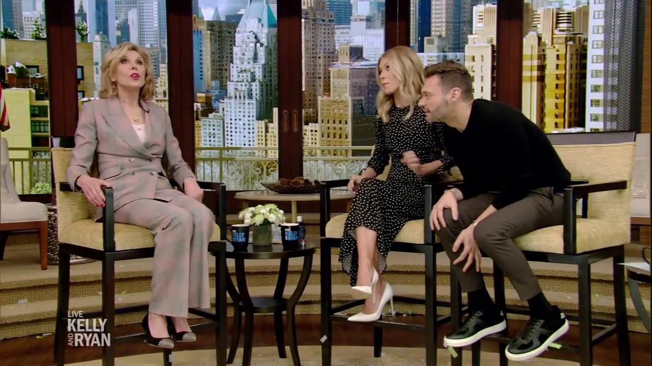 "Christine Baranski Broke Her Leg While in ""Mame"""