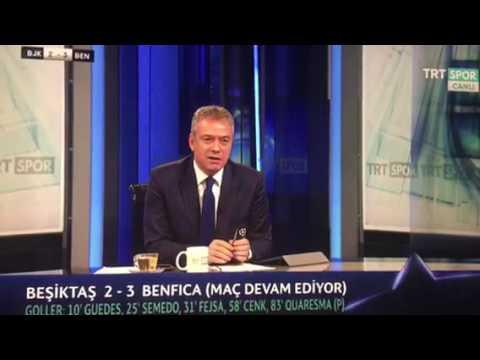 Beşiktaş Benfica Maçı 3 3 SPİKERİN HEYECANI ! MÜTHİŞ GERİ DÖNÜŞ !