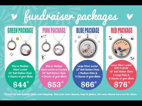 Origami Owl Fundraiser 4x6 Cards Video Youtube