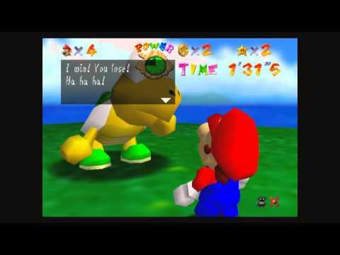 Super Mario 64 Wii U VC Gameplay (1080p)