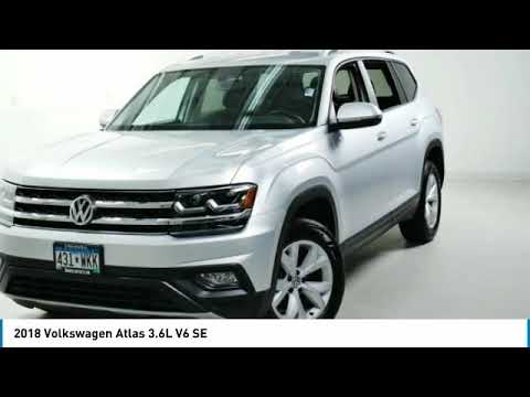 2018 Volkswagen Atlas 3.6L V6 SE Minnetonka Minneapolis Wayzata,MN 26128A