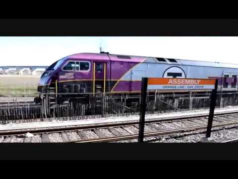 Orange Line to Oak Grove and MBTA 2029 Inbound to Boston