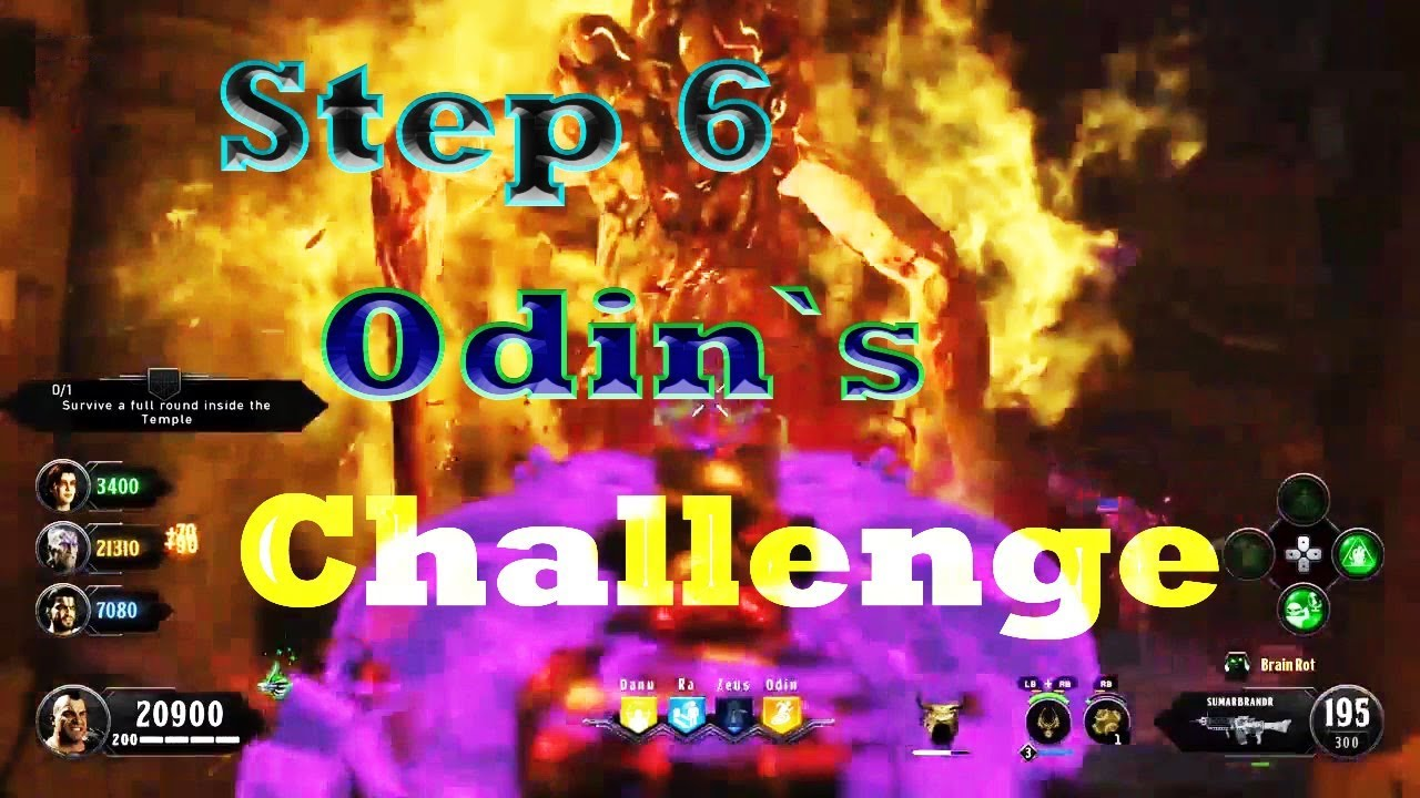 Black Ops 4 Zombies -IX Easter Egg Odin`s Challenge Tutorial Guide Step 5