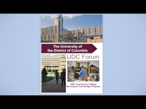 UDC Forum: Aerospace Technology Program