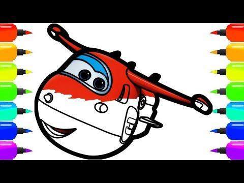 Супер Крылья | Super Wings Джетт и Робокар Поли | Друзья придут на помощь | Про машинки для детей