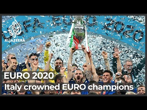 Euro 2020: Italy crowned European champions, again