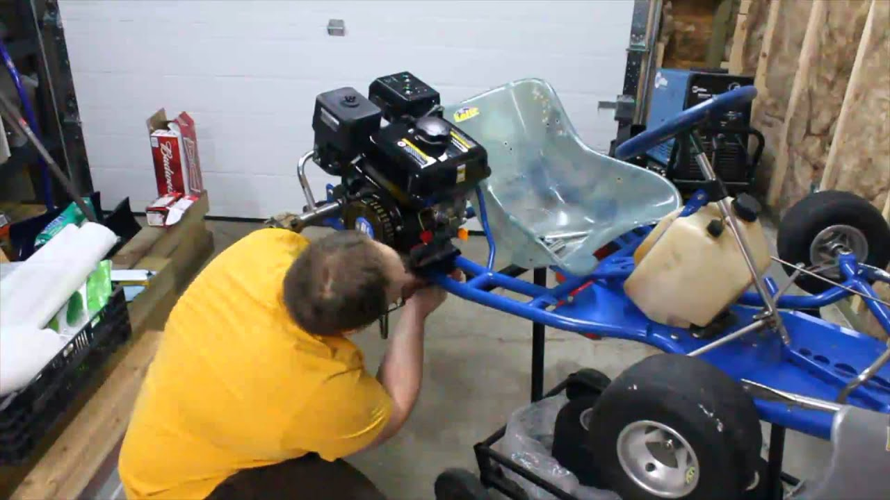 EsoBOFH's Kart Build - Ep  1 Pt  2: Engine Mounting & Prep