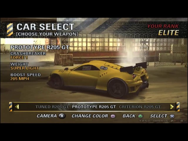Burnout Revenge  「All cars & Sounds」