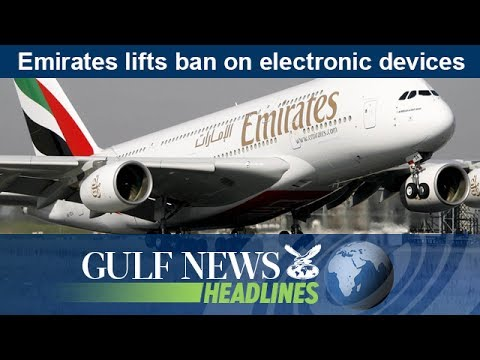 Emirates lifts ban on electronic devices - GN Headlines
