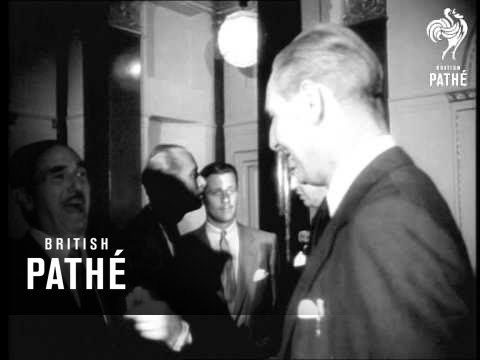 Film News - Jack Warner Luncheon Aka Dorchester (1952)
