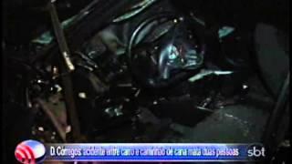 Fala Cidade 09 06 2014 D Córregos= acidente entre carro e caminhão de cana mata duas pessoas
