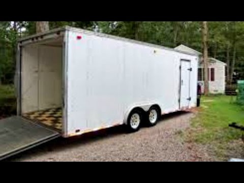 Howto Create My Own Enclosed Trailer