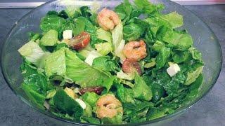 Салат с креветками и авокадо ,вкусный рецепт от Inga Avak