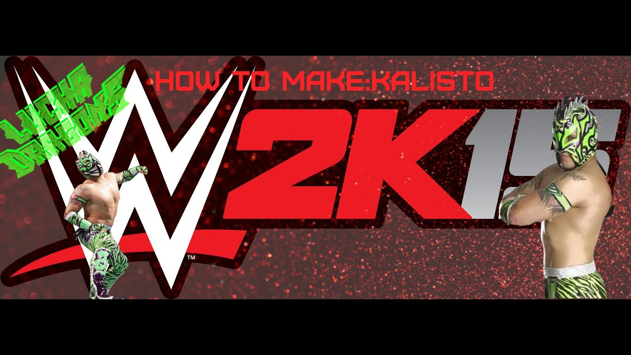 wwe 2k15 how to make kalisto xbox 360 youtube
