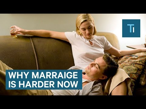 Why Marriage Seems Harder Now Than Ever Before