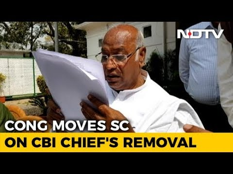 """""""Completely Illegal"""": Congress Approaches Court In Support Of CBI Chief"""