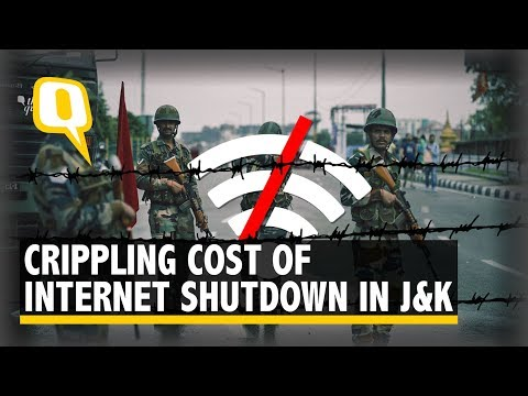 Why The Internet Shutdown in Jammu and Kashmir Does More Harm Than Good | The Quint