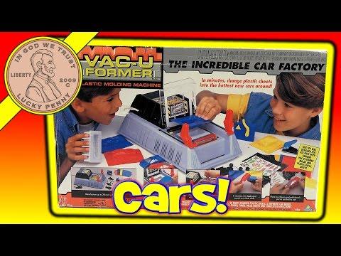Vac-U Former Plastic Molding Machine Kids Toy Set