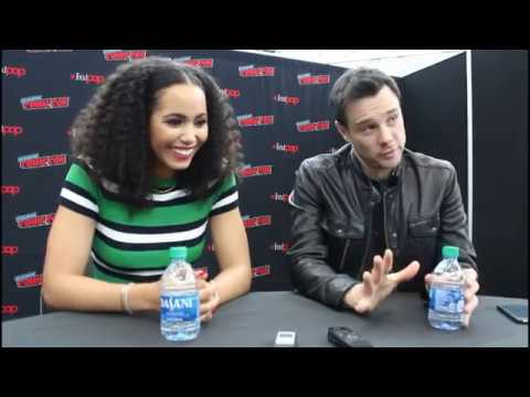 Download NYCC 2019: CHARMED Roundtable Interview w/ Madeleine Mantock & Rupert Evans