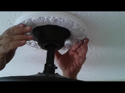 How To Install Ceiling Fan On An Uneven