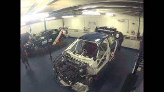 How to rebuild a BTCC Toyota Avensis in 9 days