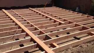 Floor Joist Installation And Blocking