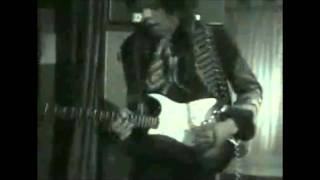 The Jimi Hendrix Experience - Purple Haze (Music Video)