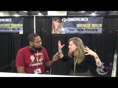 Comicpalooza 2014 Interview with Veronica Taylor