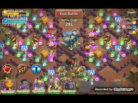 Castle Clash Expert Dungeon 6-1