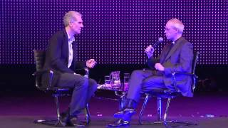 Archbishop Justin Welby in conversation with Nicky Gumbel