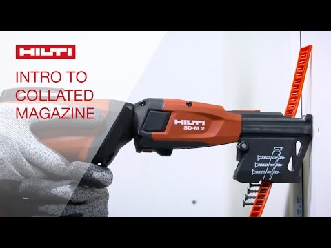 INTRODUCTION of the Hilti collated screw magazines SD-M 1 & 2