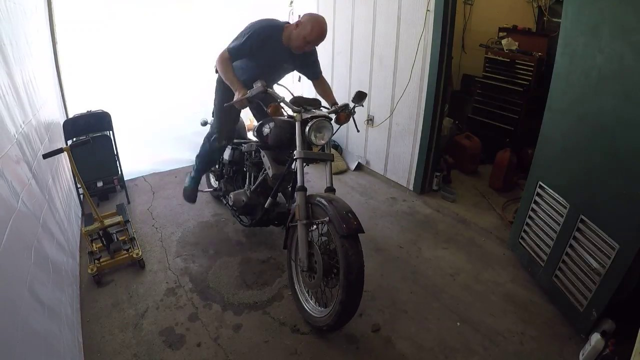 First Start and Ride of the 1978 Harley-Davidson Shovelhead FX Project