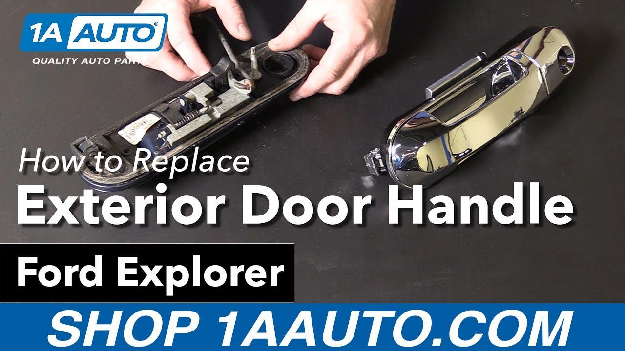 Install Exterior Door Handle Unique Exterior Door Toyota