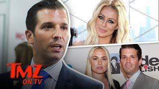 Aubrey O'Day Admits To An Affair With Donald Trump Jr. | TMZ TV