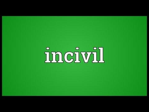 Header of incivil
