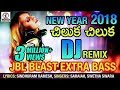 New Year 2018 DJ REMIX | Chiluka Chiluka Song | Lalitha Audios And Videos