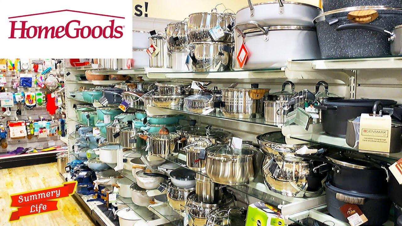 NEW HomeGoods KITCHENWARE Skillets BOWLS POTS PANS AIR FRYERS UNIQUE TRASH CANS