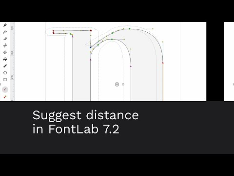 Suggest distance in FontLab 7