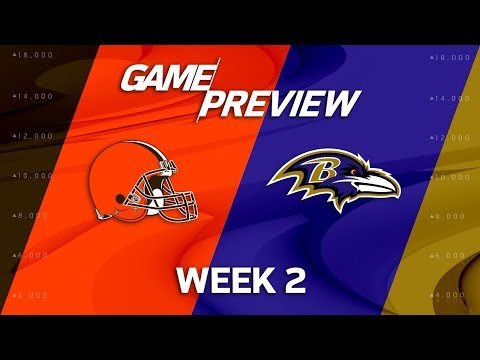 Cleveland Browns vs. Baltimore Ravens | Week 2 Game Preview | NFL