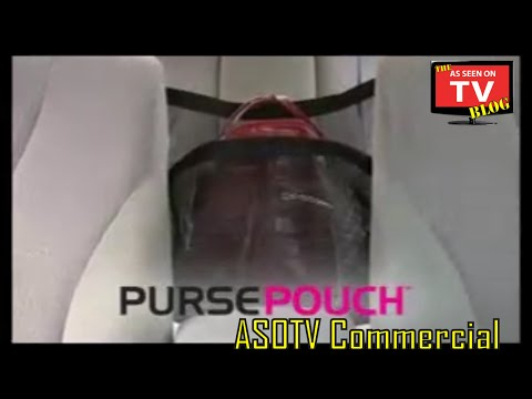Download Youtube: Purse Pouch As Seen On TV Commercial Buy Purse Pouch As Seen On TV Automotive Purse Holder