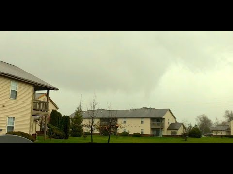 F1 Tornado in Grove City, Ohio - April 3rd, 2018